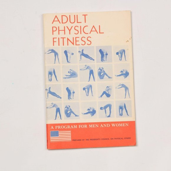 Vintage 1973 Adult Physical Fitness Book